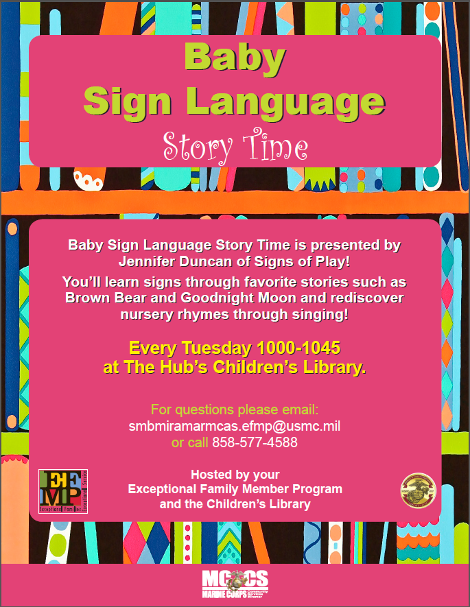 Baby Sign Language Story Time