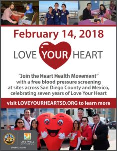Love Your Heart @ Healthy Start Military Family Resource Center | San Diego | California | United States