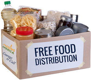 Courage to Call Food Distributions