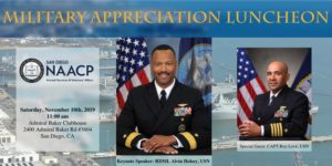 Annual Veterans Appreciation Luncheon @ Admiral Baker Clubhouse | San Diego | California | United States